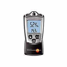 Testo 610, vocht- en temperatuurmeter