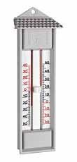 Elektronische max-min thermometer, kwik-vrij, drukknop, DOSTMANN