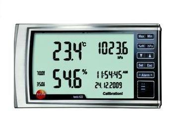Testo 622 Hygrometer met drukweergave Testo 0560 6220