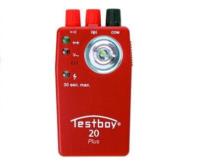 Testboy 20 plus multitester CAT III 300 V