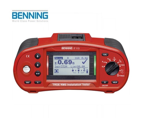 Installatietester IT 115 Benning 044104