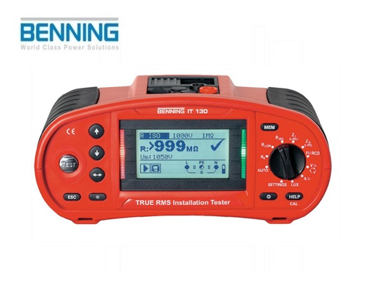 Installatietester IT 130 TRUE RMS Benning 044103