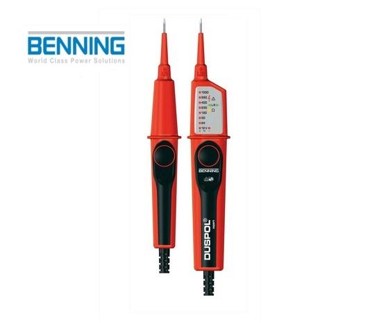 Spannings- en doorgangstester DUSPOL Expert 12-1000V AC/DC Benning 050262