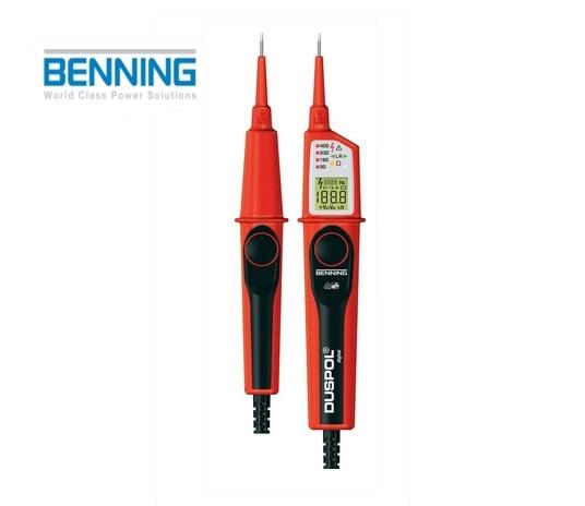Digitale spanningstester DUSPOL 1-1000V DC Benning 050263
