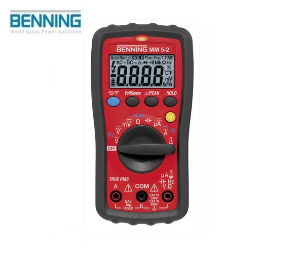 Digitale multimeter MM 5-2 600V Benning 044071
