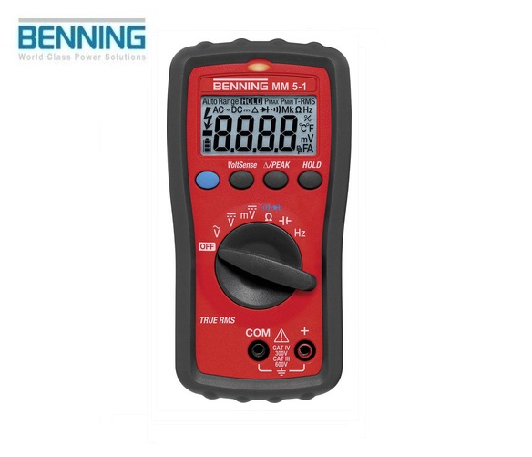 Digitale multimeter MM 5-1 600V Benning 044070