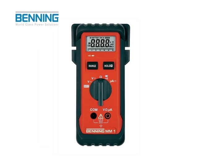 Digitale multimeter MM 1 600V Benning 044027
