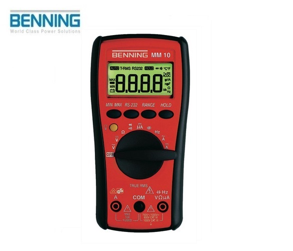 Digitale multimeter MM 10 750V Benning 044079