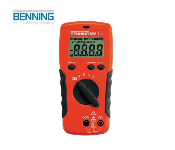 Digitale multimeter MM 1-1 750V Benning 044081