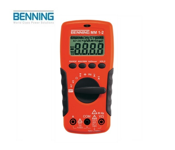 Digitale multimeter MM 1-2 750V Benning 044082