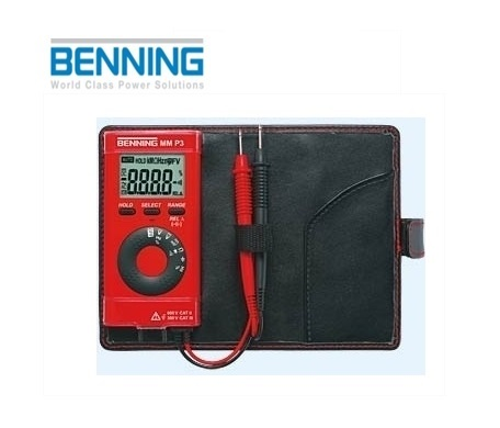 Digitale multimeter MM P3 600V Benning 044084