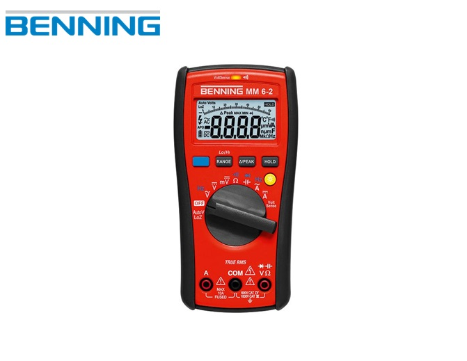 BENNING MM 6-2 Digitale Multimeter TRUE RMS Benning 044087