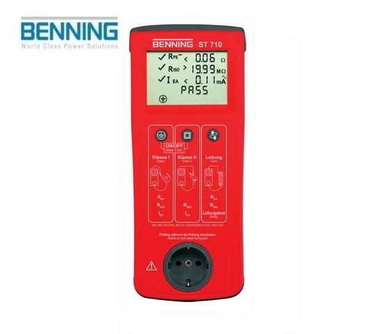 VDE-Testapparaat ST 710 Benning 050308