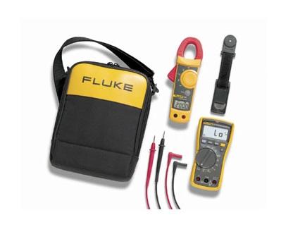 Combinatiekit voor elektriciens Fluke 117/322 EUR