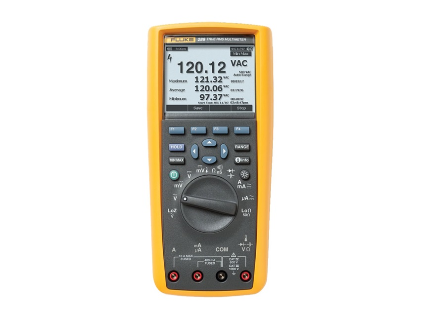 True-RMS industriële multimeter met datalogging-TrendCapture Fluke 289/EU