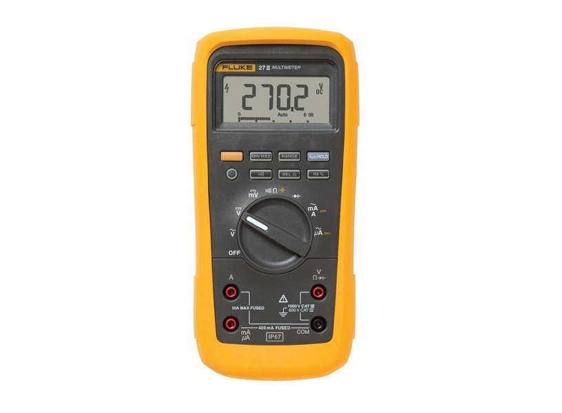 Industriële multimeter (IP67) Fluke 27II/EUR