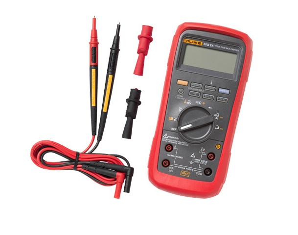 Intrinsiek Digitale True-RMS-multimeter Fluke 28 II Ex
