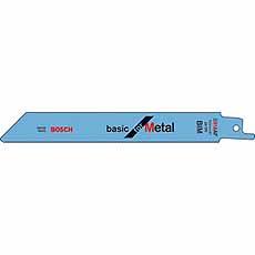 Reciprozaagblad S918B HSS 150x1,81 mm Bosch 2608651781
