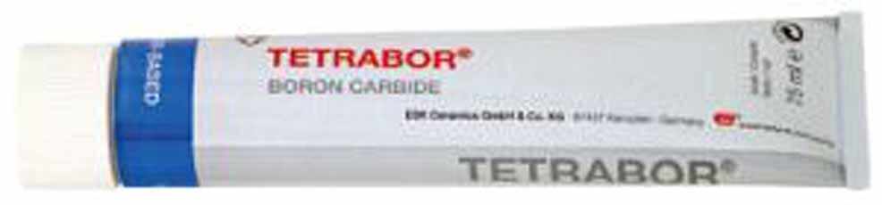 Schuurpasta TETRABOR 75ml korrelgrootte µ : 300 tot 212 (F60)