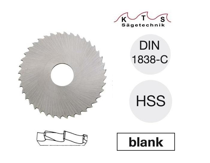 Metaalcirkelzaagblad DIN1838C 50X1,00X13 40 Z KTS
