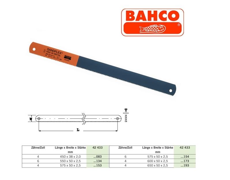 Machinezaagblad KASTO 450x38x2mm 4Z Bahco 3809