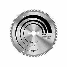 Cirkelzaagblad-HM BOSCH Ø 250x3,2x30mm 80 tanden, OPTILINE WOOD