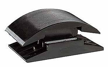 Schuurblok PVC rubber 130X70mm