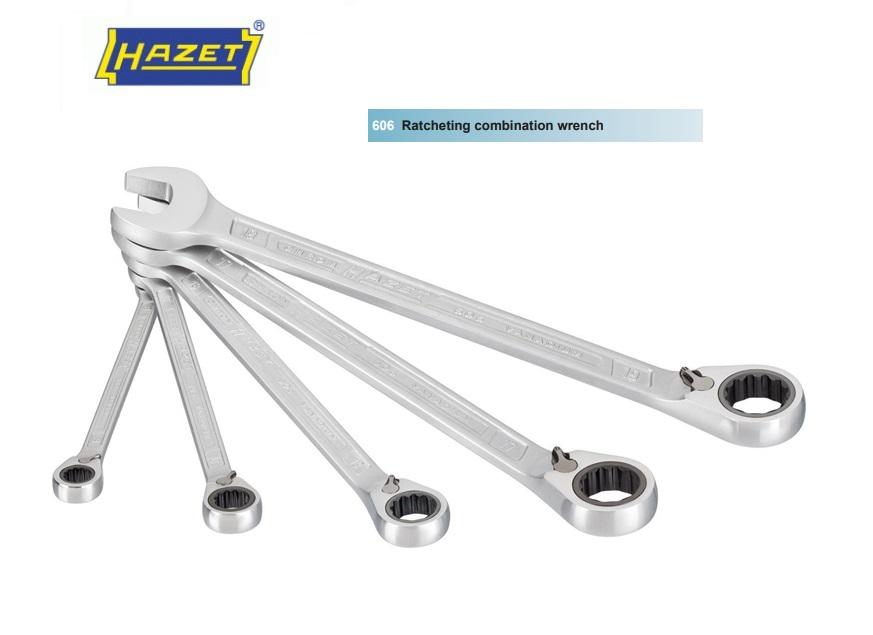 HAZET Ratel-ring-steeksleutelset 606/5