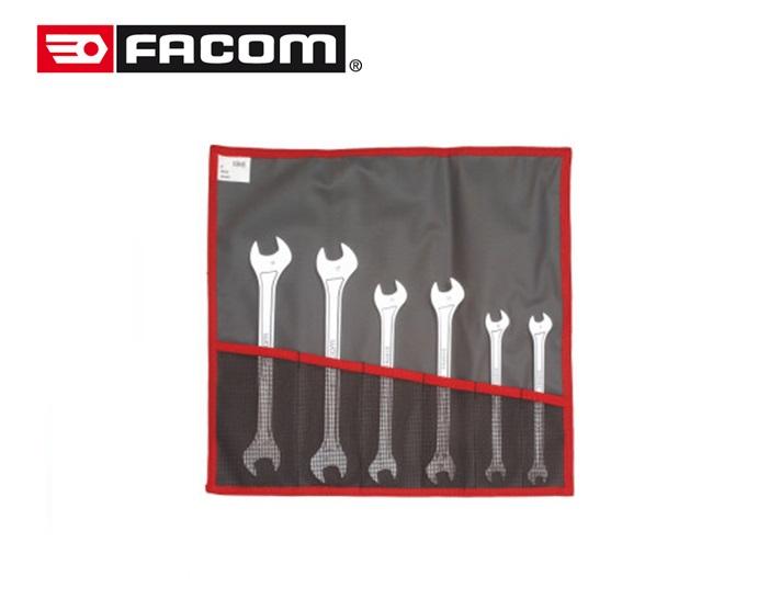 Facom Set extra platte steeksleutels, metrische maten 31.JE6T
