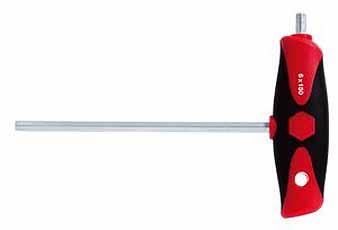 Inbusschroevendraaier met dwarsgreep 6mm, en Dwarsaandrijving, WIHA