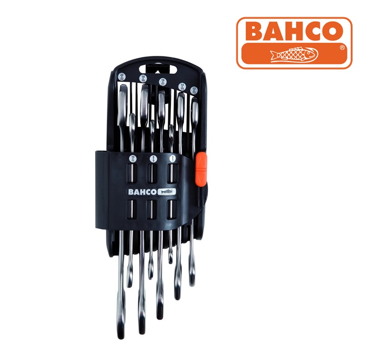 Steeksleutel set 8 delig in kunstof houder Bahco 6M/SH8