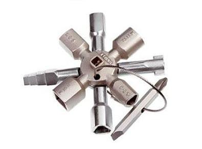 KNIPEX TwinKey schakelkast sleutel KNIPEX 00 11 01