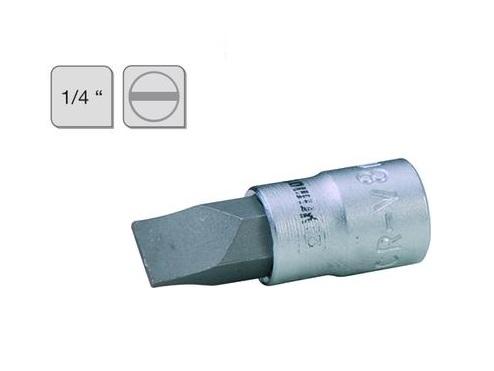 Platte schroevendraaierdop 8mm 1/4