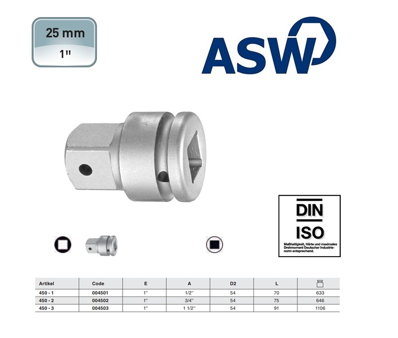 ASW Verloopstuk 1