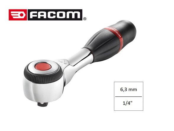 Facom R 360 Omschakelbare ratel 1/4