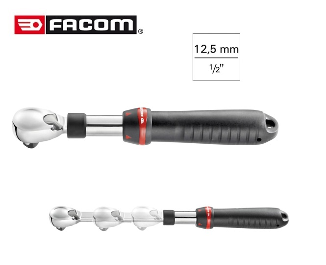 Facom SXL 161 Telescopische Omschakelbare Ratel 1/2