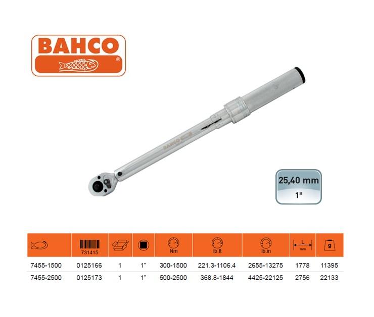 BAHCO Klikmomentsleutel 1