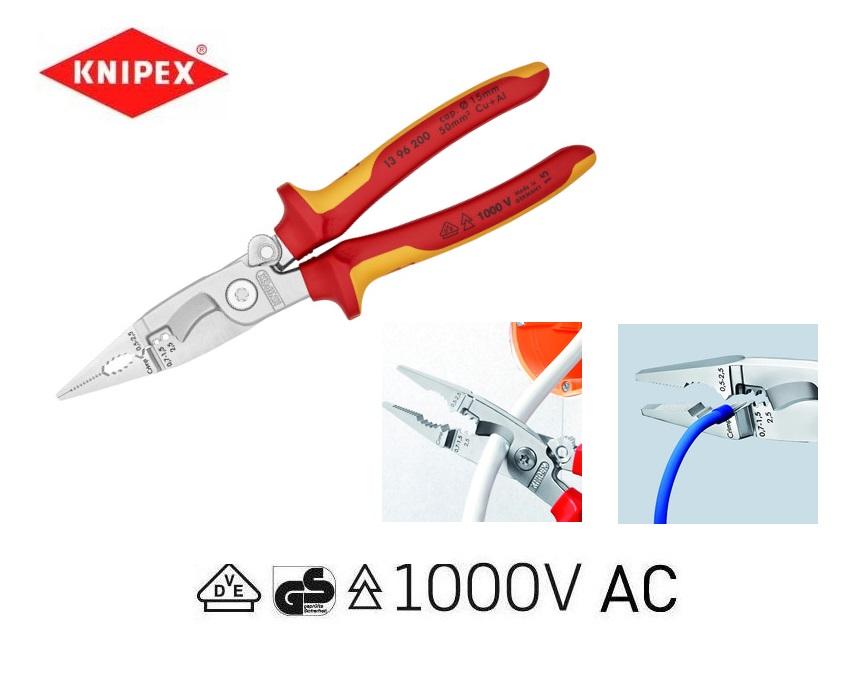 VDE Elektro-installatietang Knipex 13 96 200