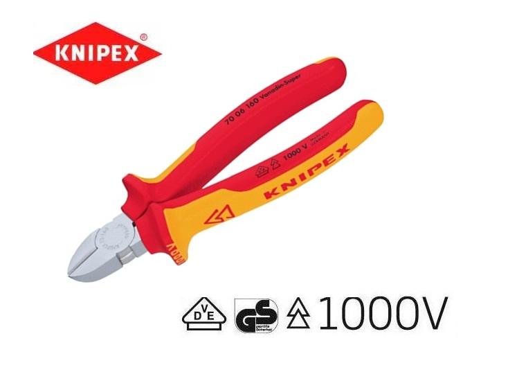 VDE Zijkniptang 125mm Knipex 70 06 125