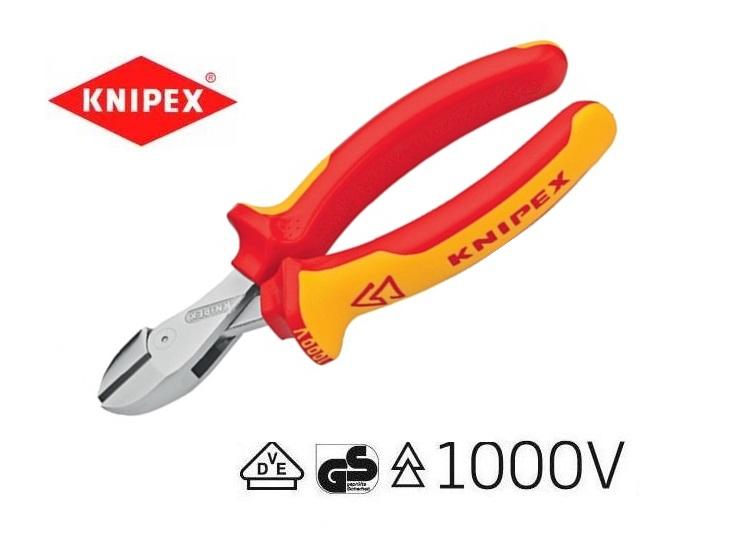 X-Cut compacte zijsnijtang Knipex 73 06 160