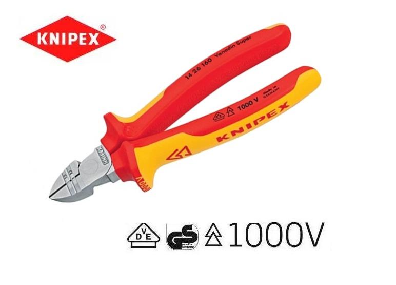VDE strip-zijsnijtang Knipex 14 26 160