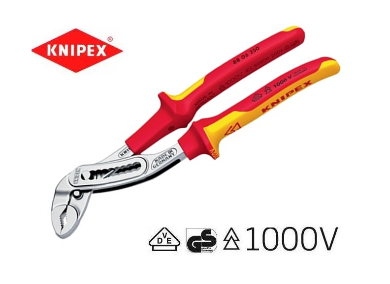 VDE Waterpomptang Alligator 250mm Knipex 88 06 250