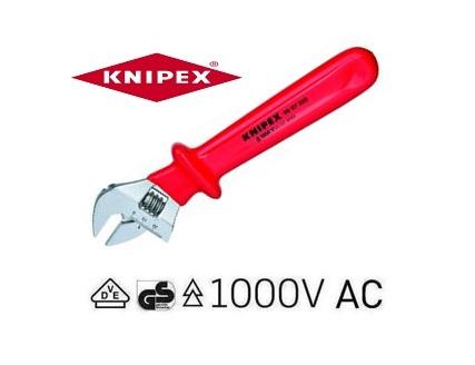 VDE Moersleutel 260mm Knipex 98 07 250