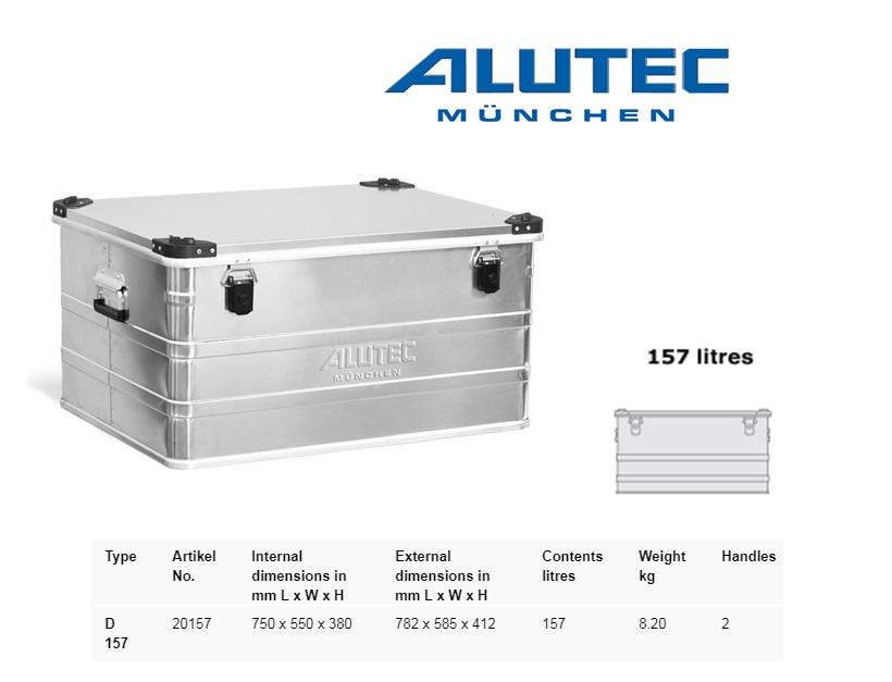 Aluminiumbox 782 x 585 x 412 ALUTEC D157
