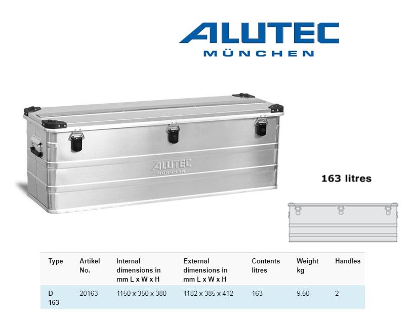 Aluminiumbox 1182 x 385 x 412 ALUTEC D 163