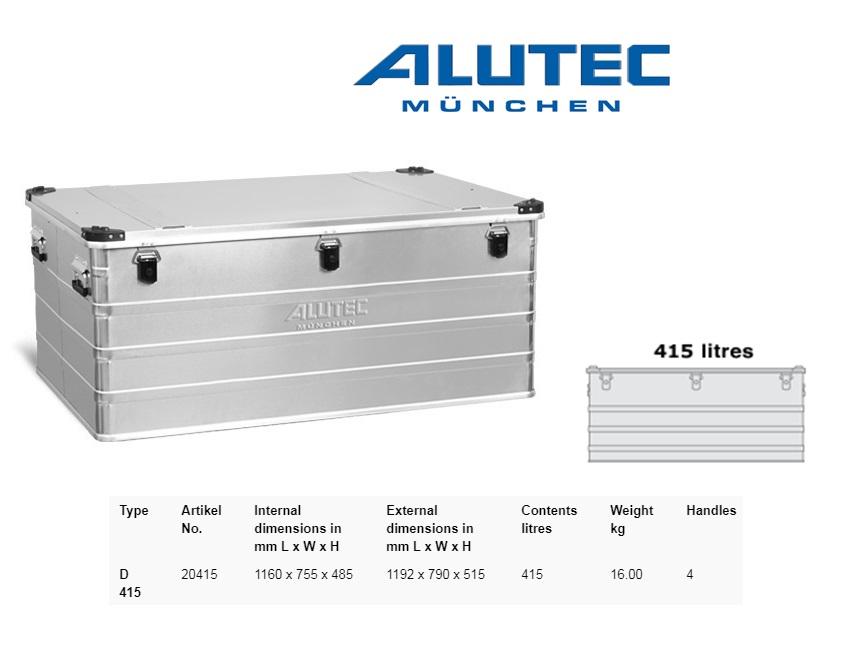 Aluminiumbox 1192 x 790 x 515 ALUTEC D 415