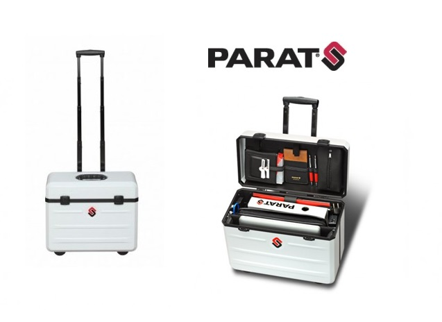 Parat Paradoc TronX in hoogglans wit 435x210x315