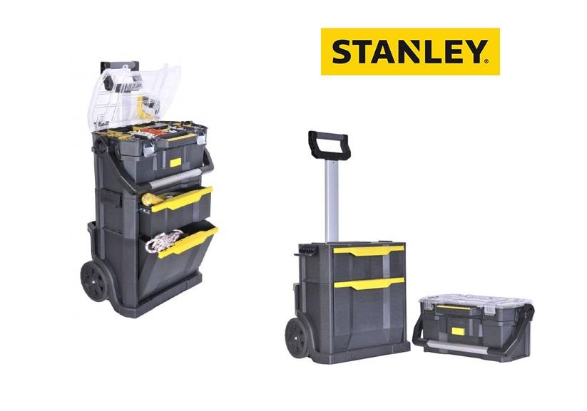 Stanley Modulaire Gereedschapswagen Stanley 2-in-1 - 56x76,4x38,2cm