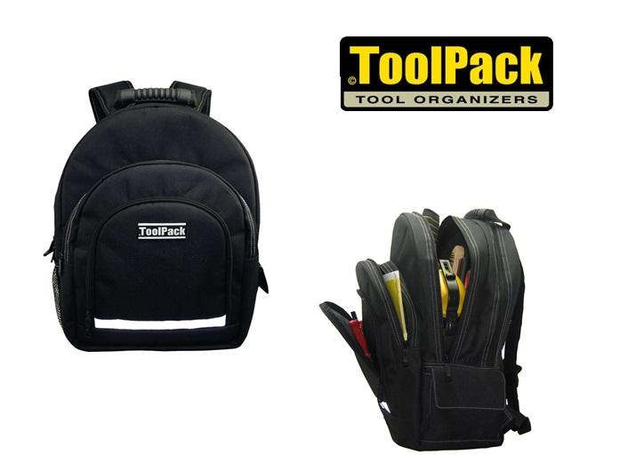 Rugzak voor gereedschap, laptop en tablet 440 x 200 x 350 mm