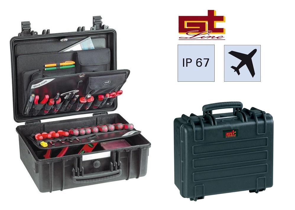 Gereedschapskoffer 445x190x345 WATERPROOF GT 44-19 PTS